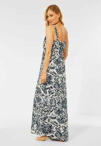 Cecil - MIT BLUMEN PRINT - Maxi dress - weiß - 1