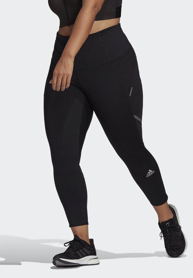 HOW WE DO LONG TIGHTS (PLUS SIZE) - Leggings - black/refsil