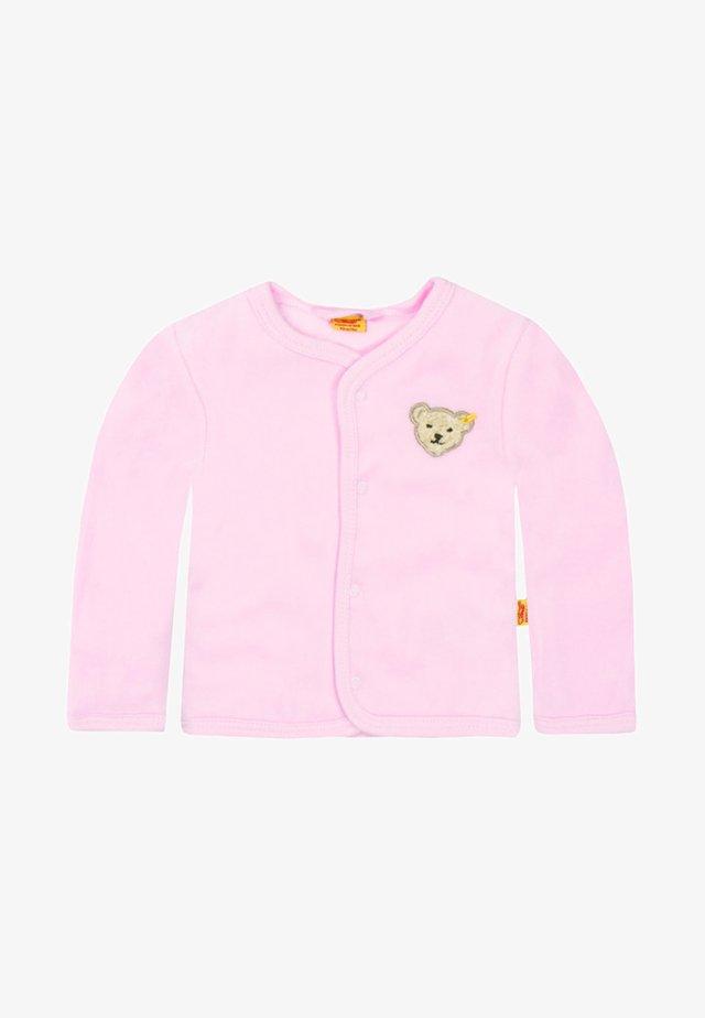veste en sweat zippée - barely pink