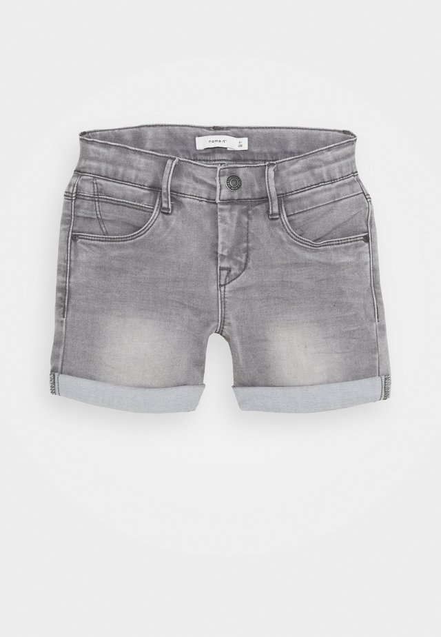NKFSALLI DNMTIA - Jeans Shorts - light grey denim