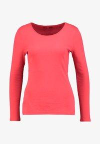 s.Oliver - LANGARM - Langærmede T-shirts - coral - 3
