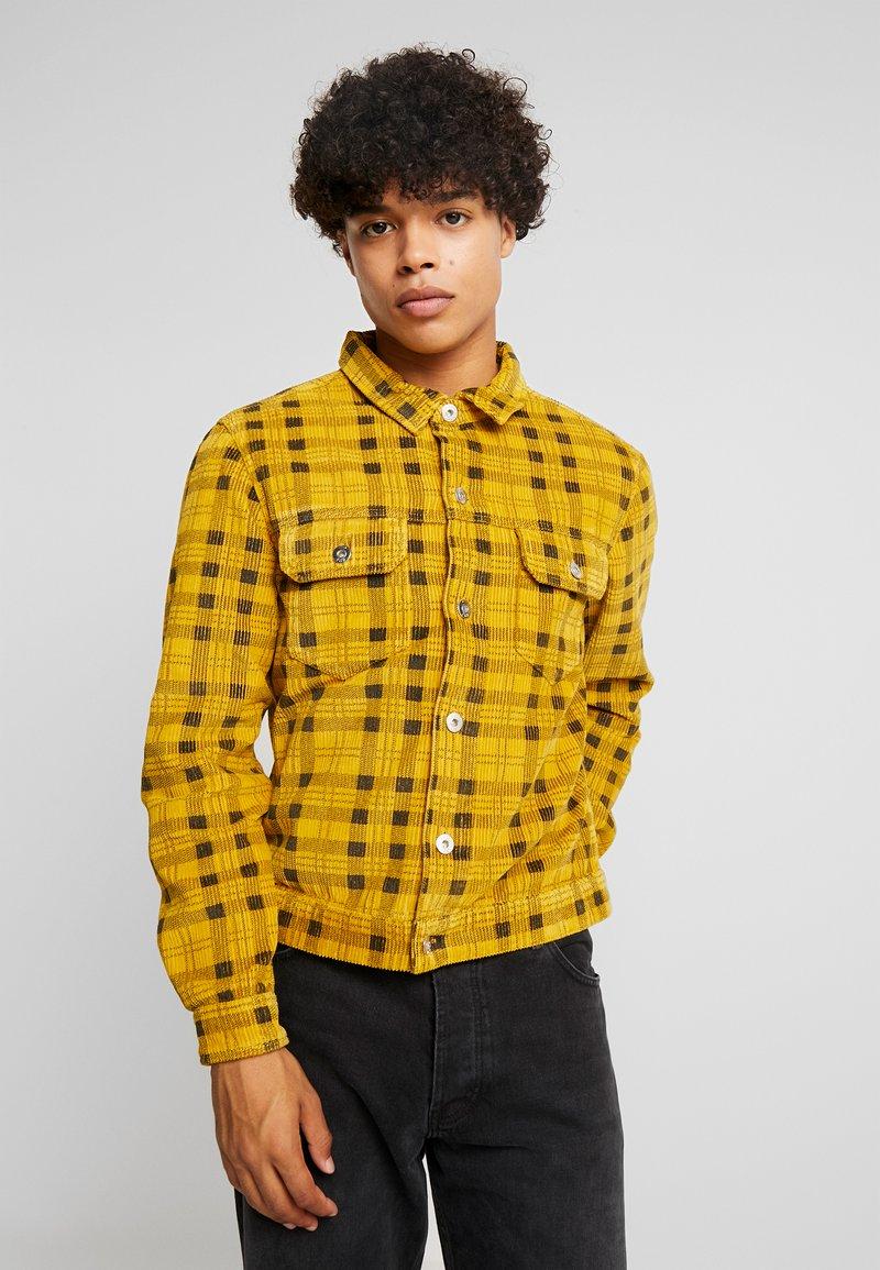 FoR - CHCK TRUCKER  - Summer jacket - yellow