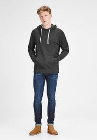 Jack & Jones - Hoodie - dark grey melange - 1