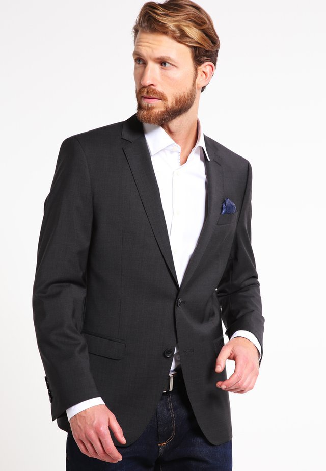SLIM FIT - Veste de costume - grau