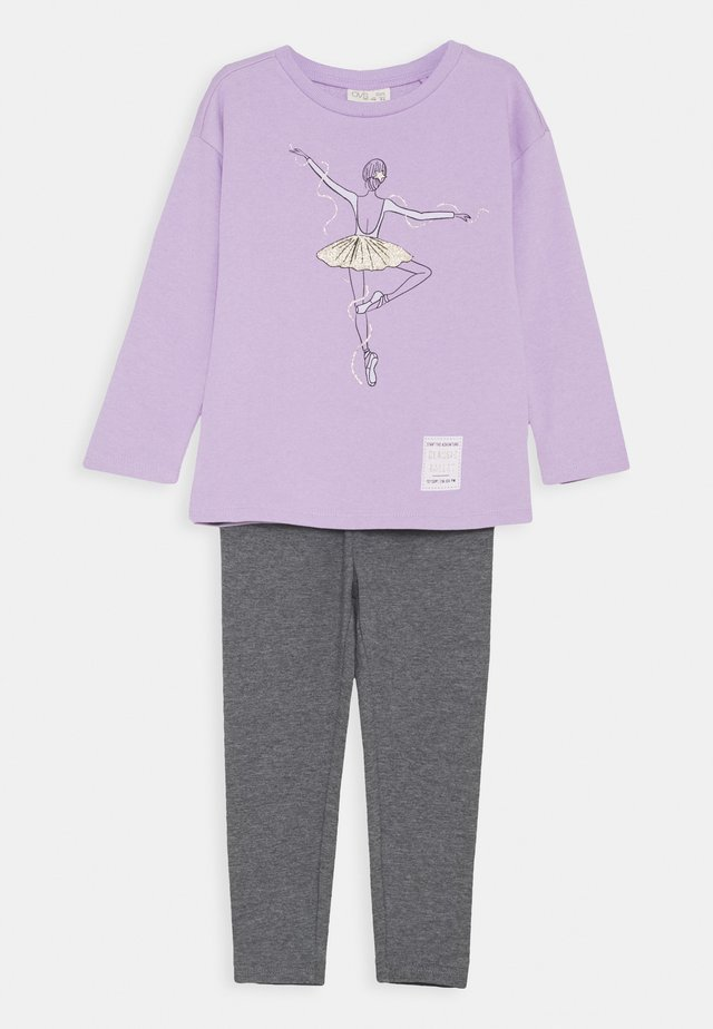 TERRY JOGGING SET - Felpa - lavendula