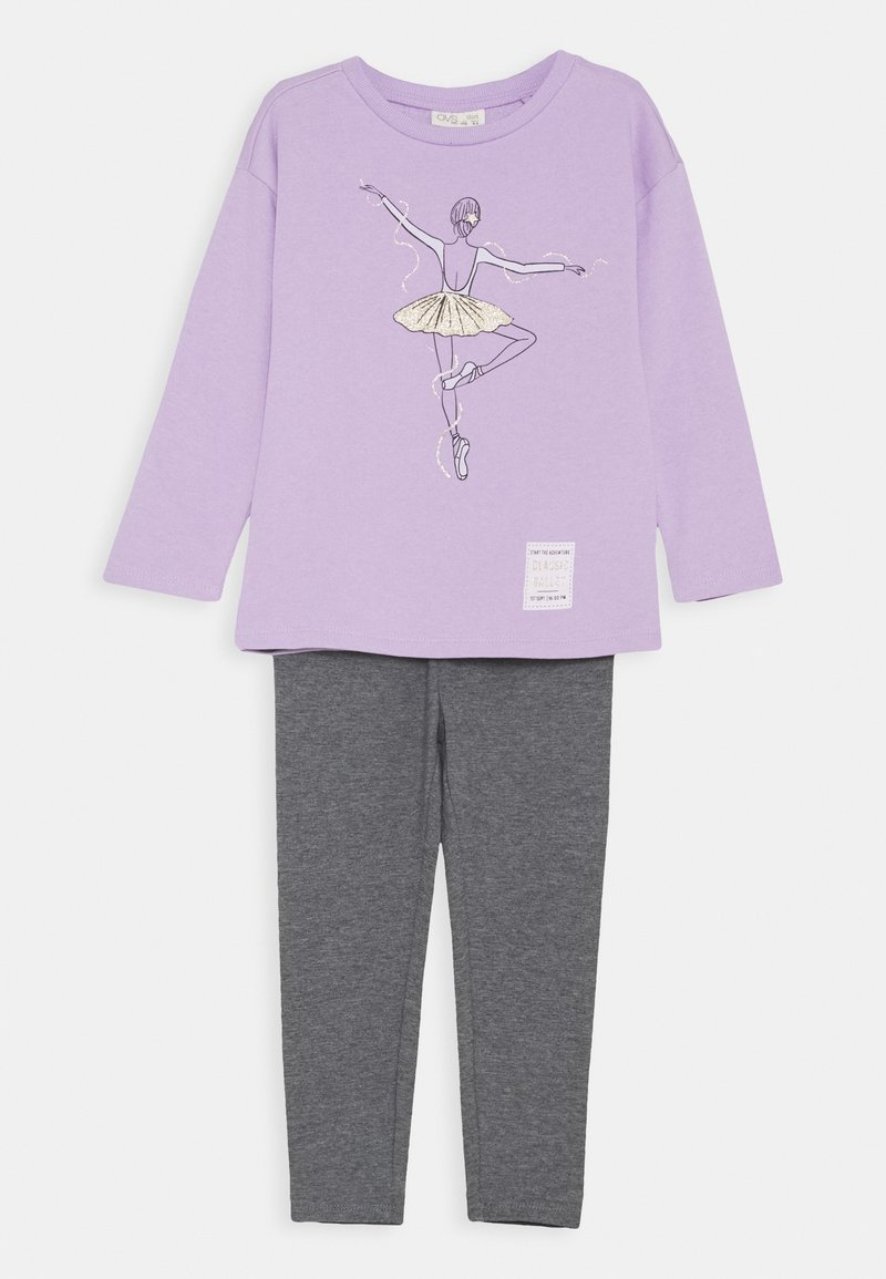 OVS - TERRY JOGGING SET - Sweater - lavendula