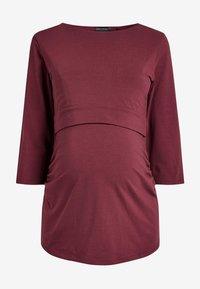 Next - BLEND NURSING - Bluzka z długim rękawem - red - 2