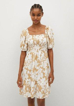 CHENAI-L - Denní šaty - beige