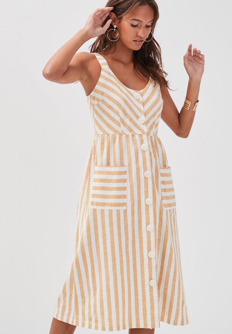 Cache Cache - Shirt dress - white