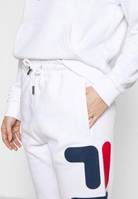 Fila Petite - PUREPANTS PETITE - Verryttelyhousut - bright white - 4
