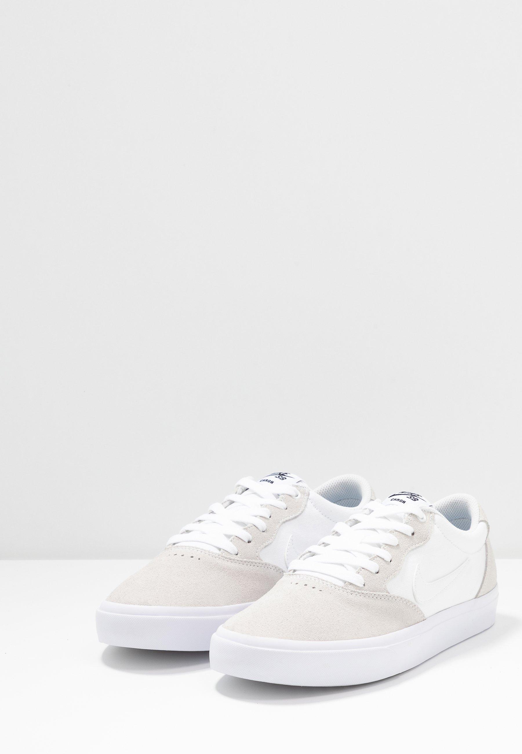 Nike SB CHRON Skateschuh white/weiß