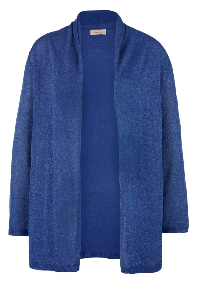 Cardigan - royal blue