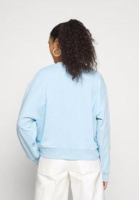 Weekday - HUGE CROPPED - Bluza - light blue - 2