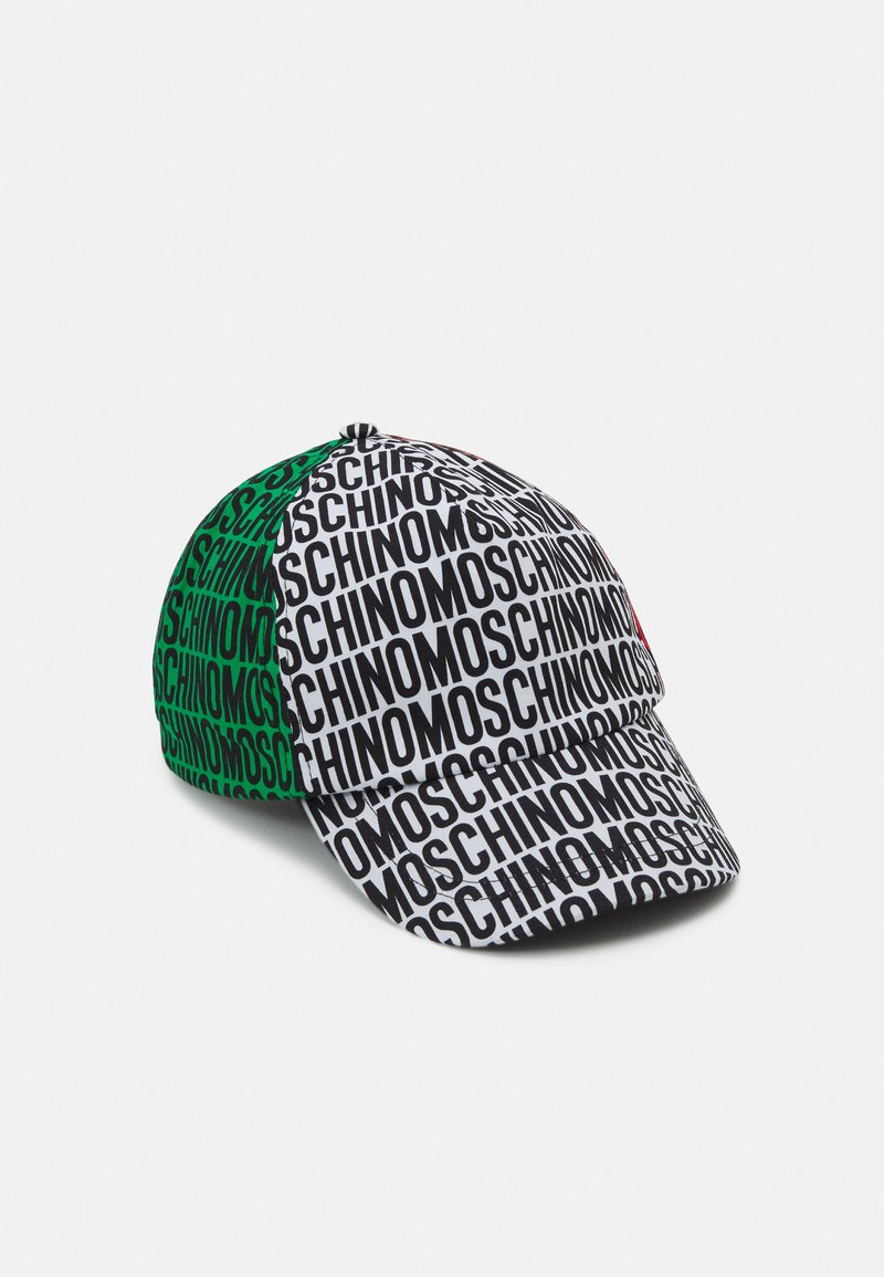 MOSCHINO - Cap - red/white/green