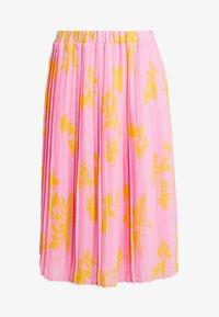 Marc O'Polo DENIM - SKIRT - A-line skirt - pink/orange - 3