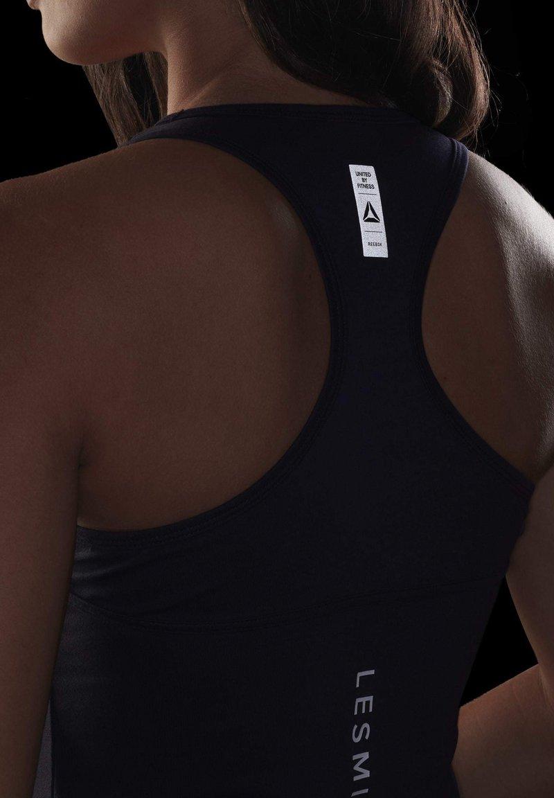 Reebok Les Mills BodyCombat Homme Fitness Training Tank Top gilet noir
