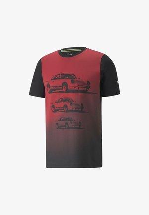 PORSCHE LEGACY FTL GRAPHIC TEE MAND - T-shirt imprimé - puma black
