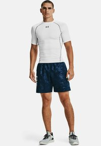 Under Armour - EMBOSS  - Shorts - academy // white - 1