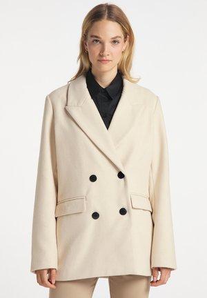 ÜBERGANGS - Short coat - creme