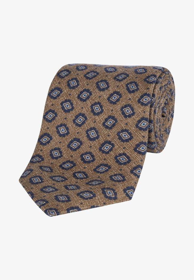 Cravate - brown