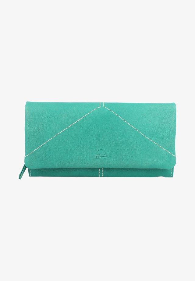 TUMBLE - Wallet - aqua green