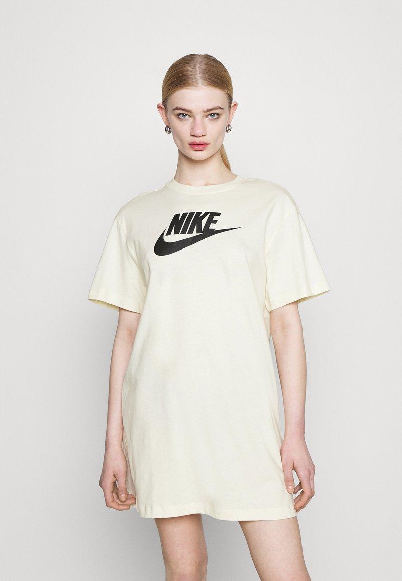 Nike Sportswear - DRESS FUTURA - Jersey dress - coconut milk