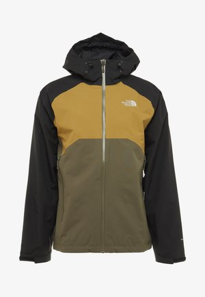 MENS STRATOS JACKET - Hardshelljacka - new taupe green/black/british khaki