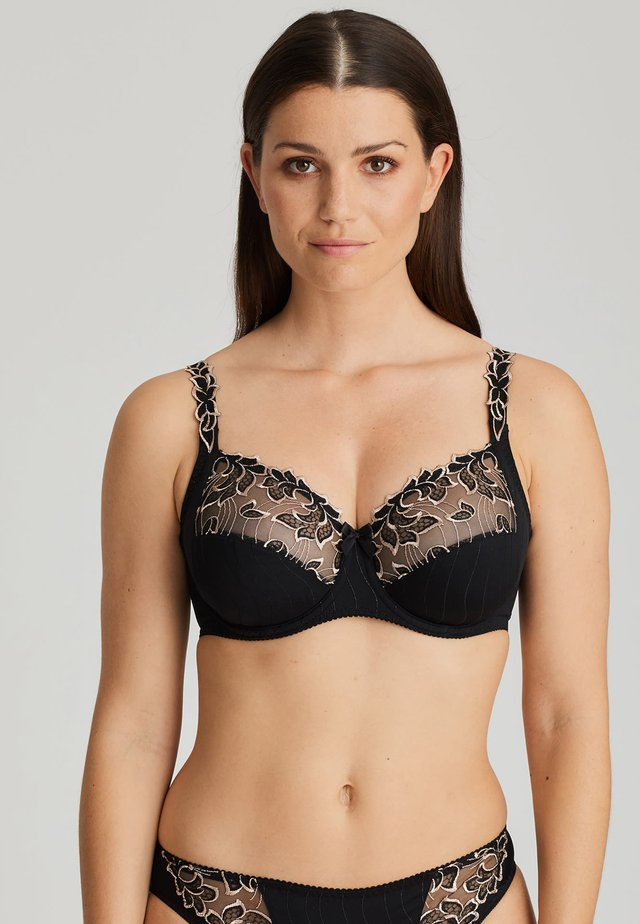 BH DEAUVILLE - Underwired bra - celebration black