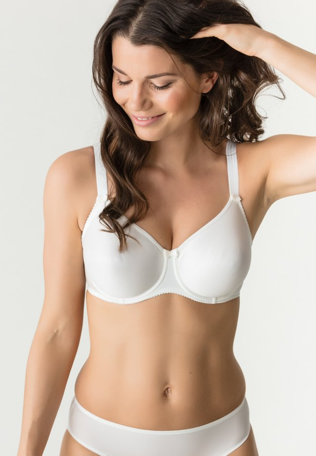 Underwired bra - natur