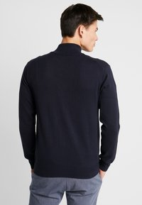 GANT - CLASSIC ZIP CARDIGAN - Kofta - evening blue - 2