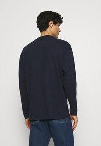 TOM TAILOR DENIM - HIGH COLLAR - Långärmad tröja - sky captain blue - 2