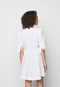 Pinko - ASSOLTO ABITO PESANTE - Day dress - white - 2