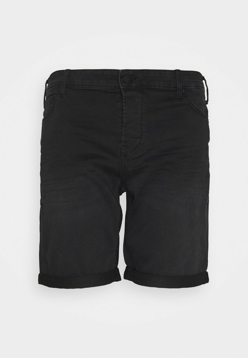 Only & Sons - ONSPLY LIFE - Shorts - black denim