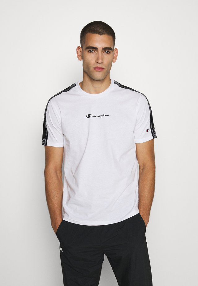 LEGACY TAPE CREWNECK - T-shirt imprimé - white
