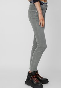 Marc O'Polo - ALBY - Trousers - grey - 3