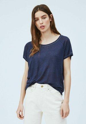 AMIRA - Basic T-shirt - dark blue