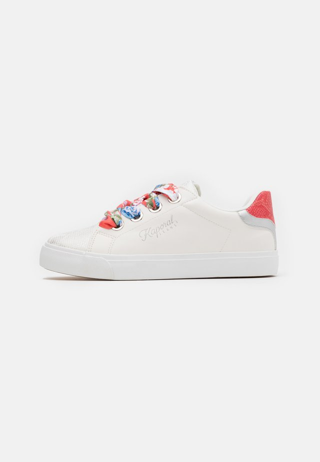 TORENA - Sneakers basse - blanc/corail