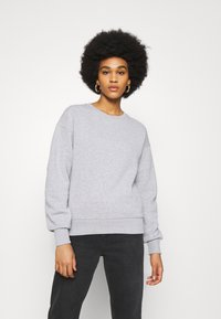 NU-IN - BASIC CREW NECK  - Sweatshirt - grey marl - 0