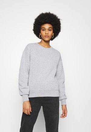 BASIC CREW NECK  - Sweatshirt - grey marl