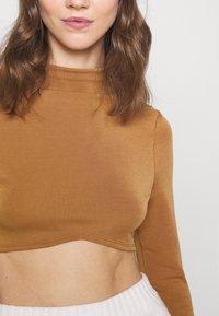 Fashion Union - ANTOINETTE - Top sdlouhým rukávem - pecan - 5