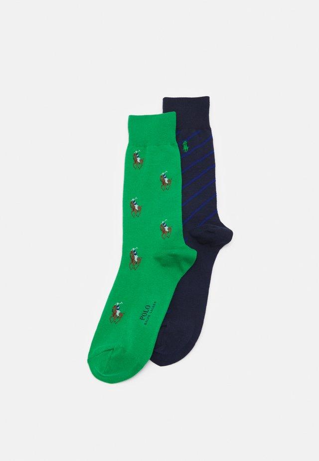 BLEND 2 PACK - Socks - golf green
