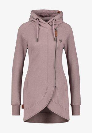 Zip-up sweatshirt - pale