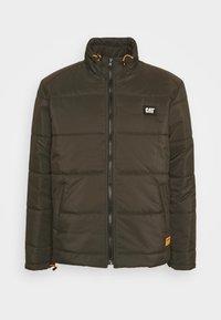 BASIC PUFFY JACKET - Winter jacket - military