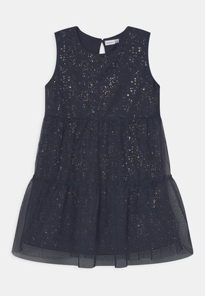 NKFRONJA SPENCER CAMP - Cocktail dress / Party dress - dark sapphire