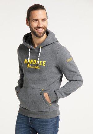 NORDSEE - Hoodie - grau melange