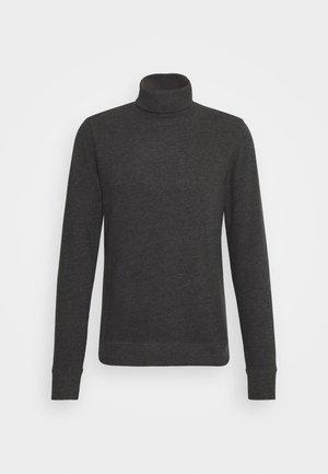 TAB ROLL - Stickad tröja - charcoal marl