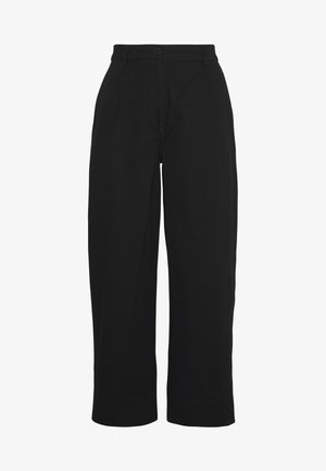 MINO TROUSERS - Trousers - black