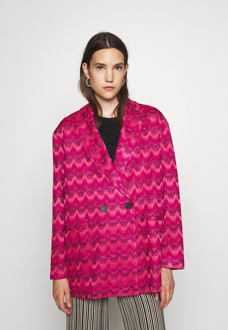 M Missoni - JACKET - Blazer - hot pink