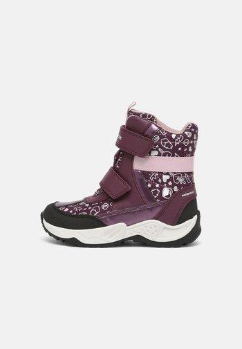 SENTIERO GIRL - Winter boots - prune/dark rose