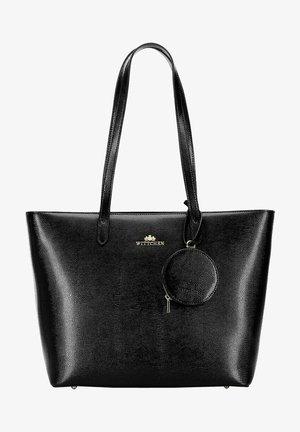Handtas - schwarz und gold